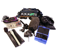 Sound Devices, Sennheiser 416 Boom, Sonotrims
