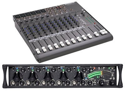 Audio Mixers | PA Systems