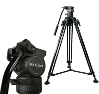 Cartoni Action Pro Fluid Head and Tripod