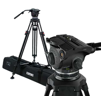 Cartoni FocusHD Fluid Head and Tripod