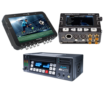 Digital Video Record | Capture | Digital Audio Record | VTRs