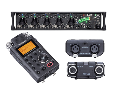 Tascam Digital Audio Recorders | Sound Devices 552 Mixers