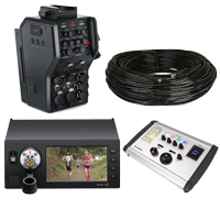 Blackmagic URSA Optical Studio & Camera Fiber Converters Camera Control System