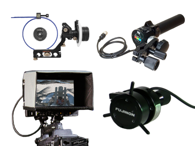 Focus Control | Zoom Controls | Studio Viewfinders