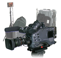 Panasonic HPX-500 P2 EFP Package