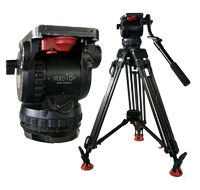 Sachtler Video 18Plus Fluid Head and Tripod