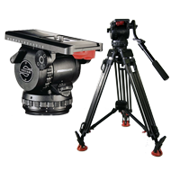 Sachtler Video Sensor 20 Fluid Head and Tripod