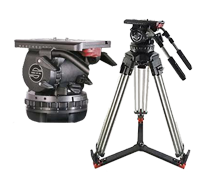 Sachtler Video 25II Fluid Head and Tripod