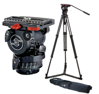 Sachtler FSB6 Fluid Head and Tripod