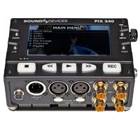 Sound Devices Pix240i | ProRes | Avid | 250GB HD