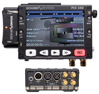 Sound Devices Pix 240i DVR | ProRes | Avid